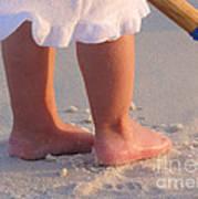 Beach Feet  Poster