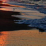 Beach Glow Poster
