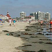 Beach Goers Poster