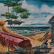 Beach Hideaway Poster