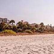 Beach Homes Poster