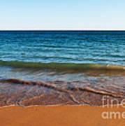 Beach In Algarve Poster