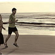 Beach Joggers Poster