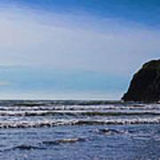 Beach On The Oregon Coast Poster