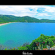 Beach Panorama - Brasil Poster