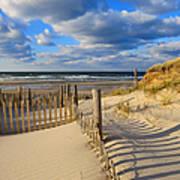 Beach Shadows  Poster