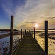 Beach Sunrise V2 Poster by Ian Mitchell