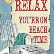 Beach Time 1 Poster