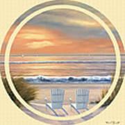 Beach World Poster
