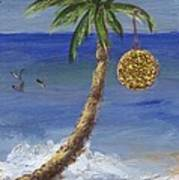 Beachy Christmas Poster
