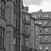 Beacon Hill In Black And White Poster