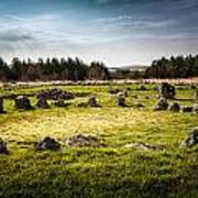 Beaghmore Stone Circles Poster