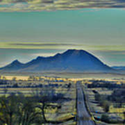 Bear Butte Surreal Poster