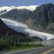 Bear Glacier Poster