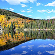 Bear Lake Reflection Poster by Tranquil Light  Photography