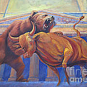 Bear Vs Bull Poster