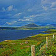 Beara Peninsula West Kerry - On The Road To Lauragh Again Poster