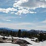 Beartooth Pass Clouds Poster