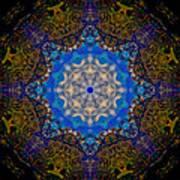 Beartooth Pass Kaleidoscope Poster