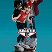 Beatie Boys_the New Style 2 Poster by Nelson Dedos Garcia