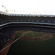 Beautiful Right Field View Of Old Yankee Stadium Poster