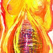 Beau Flambeau A Fire Girl Poster