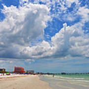 Beautiful Clearwater Beach Poster