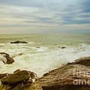 Beautiful Coastal Landscape Poster
