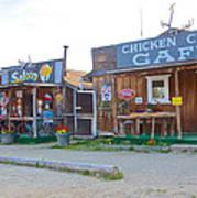 Beautiful Downtown Chicken-alaska Poster