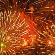 Beautiful Fireworks 4 Poster