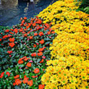 Beautiful Flower Garden Bellagio Las Vegas Poster