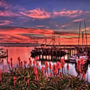 Beautiful Harbor Poster