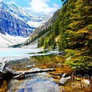 Beautiful Lake Agnes Poster