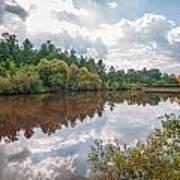 Beautiful Lake Reflections Poster