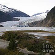 Beautiful Mendenhall Glacier Poster