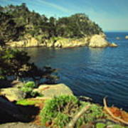 Beautiful Monterey Bay From Point Lobos Poster
