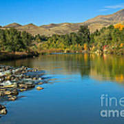 Beautiful Payette River Poster by Robert Bales
