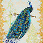Beautiful Peacock-a Poster