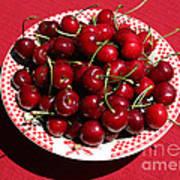 Beautiful Prosser Cherries Poster