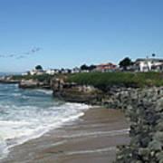 Beautiful Santa Cruz Coast Poster