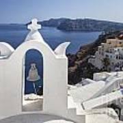 Beautiful Santorini Poster