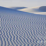 Patterns White Sands New Mexico Poster