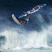 Beauty Of Windsurfing Maui 1 Poster