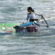 Beauty Of Windsurfing Maui 2 Poster