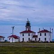 Beavertail Lighthouse. Poster