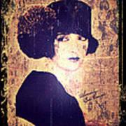Bebe Daniels - 1920s Actress Poster by Absinthe Art By Michelle LeAnn Scott