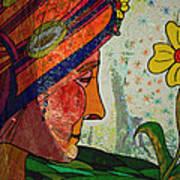 Becoming The Garden - Garden Appreciation Poster