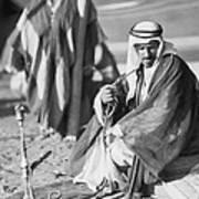 Bedouins In Jordan Poster