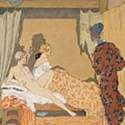 Bedroom Scene Poster