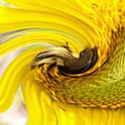 Bee Twirl Poster